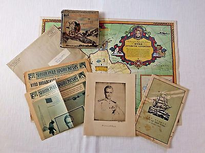 Vtg Antartic Expedition Admiral Byrd Collection Ephemera G F Grape-Nuts Tittle