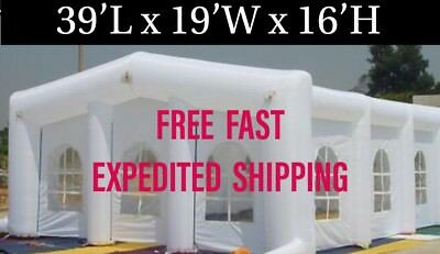 Inflatable Event Tent Wedding Special Events Party Business 39'L x 19'W x 16'H