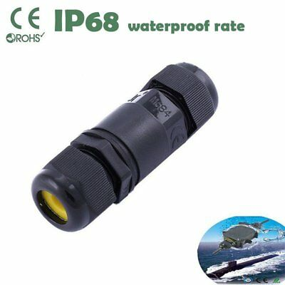 IP68 Waterproof Electrical Cable Wire Connector 2 3 4 Pins 4M Depth Water Hot
