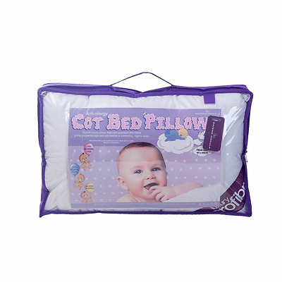 BABY Anti-Allergy COTBED PILLOW Children Kids Toddler Nursery Cot Pillow