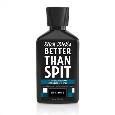 New Adult toys Sr Slick Dicks Waterbased Lubricant 8.5 Fl. Oz. Better Than Spit