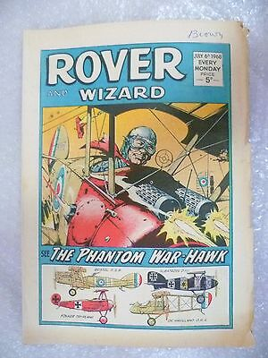 Comic- Rover and Wizard 6th July 1968