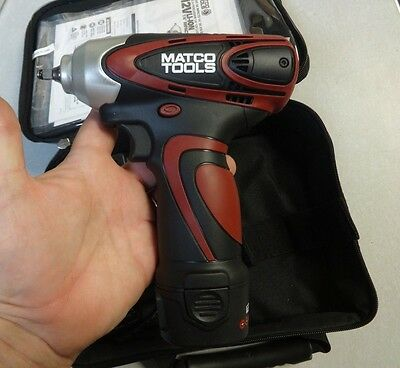 """Matco Tools Infinium MCL1214IW 1/4"""" 12V Impact Wrench"""