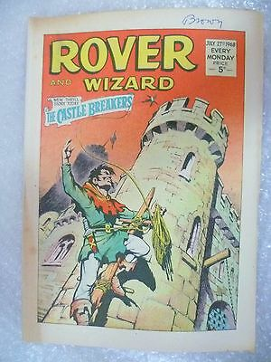 Comic- Rover and Wizard 27th July 1968
