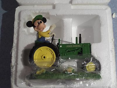 """FARM MAGIC From The MICKEY'S FARM LIVIN' With John Deere Collection """" Preowned"""""""