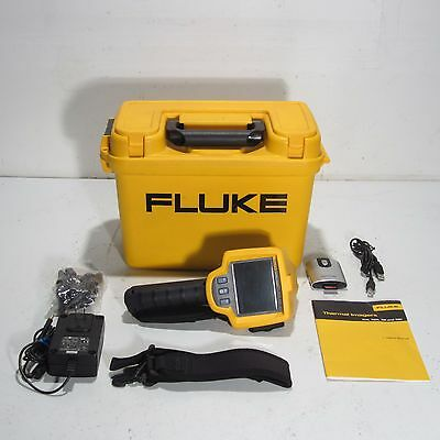 Fluke Tir Ir Infrared Fusion Thermal Imager With Accessories