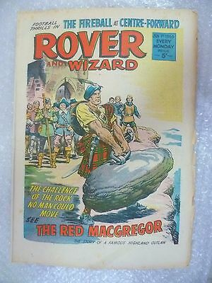 Comic- Rover and Wizard 1st January 1966