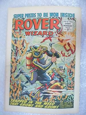 Comic- Rover and Wizard 8th January 1966