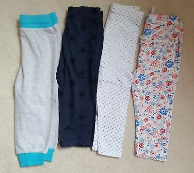 4 pairs of baby girl bottoms 12 -18 months