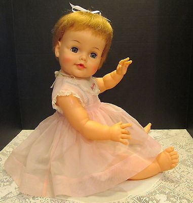 Ideal 1960's Big Betsy Wetsy Doll