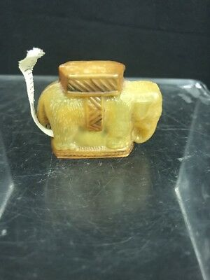 Vintage Figural Celluloid Sewing Measuring Tape of Elephant