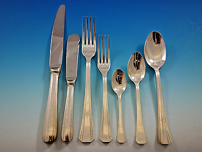Palme Hotelware Christofle France Silverplated Flatware Set Service 56 pc Dinner
