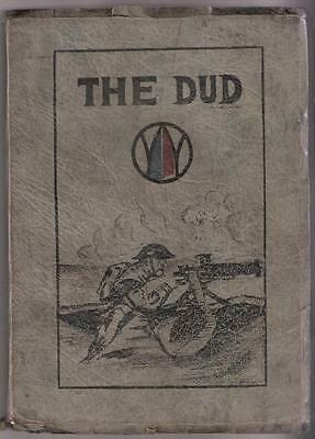 """THE DUD"" by HAP STRICKLETT WWI UNIT HISTORY Co C 341st MG BN 177th BG, 89th Div"
