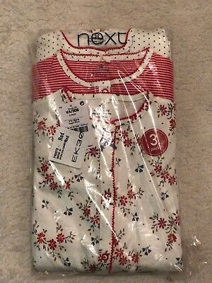 BNWT Next Baby Designed For You 3 Pack Of Baby Grows(sleepsuits) 1 1/2-2 Yrs