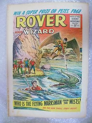 Comic- Rover and Wizard 12th March 1966