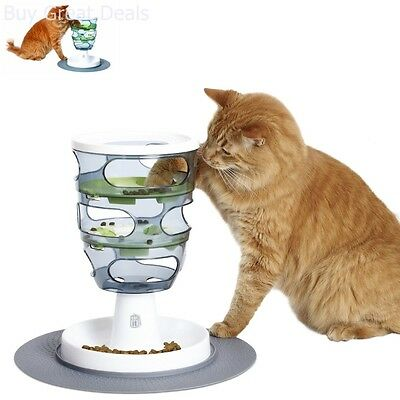 Cat Senses Food Maze Treat Food Cat Toy Pet Interactive Toys Cats Feeder Playset
