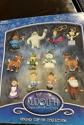 Rudolph and the island of misfit toys ( They look like key chains to me)