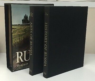 The Horizon History Of Russia/Arts Of Russia 2 Book Set/ Slipcase