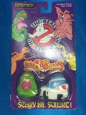 Sealed The Real Ghostbusters Spitballs Slimer Ecto One Figures (AP1030972)