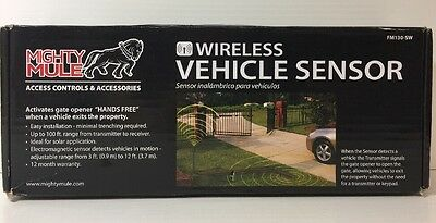 (New) MIGHTY MULE FM130SW WIRELESS GATE OPENER SENSOR WAND
