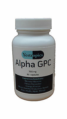 Alpha-GPC 300mg 30 or 90 capsules