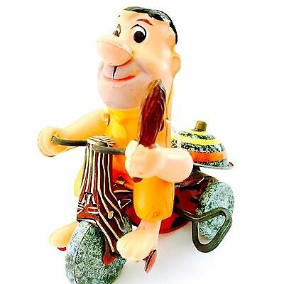 Marx 1962 Fred Flintstone, Wind Up Tricycle, One Owner, Fast Shipping, Works!