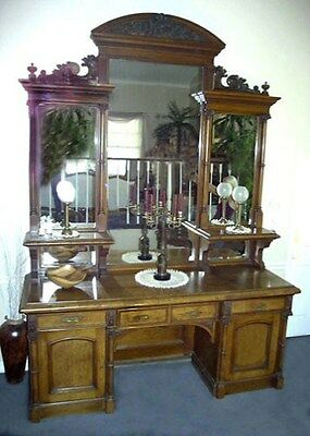 Circa 1885 French Sideboard France Vintage Antique No Reserve Nr