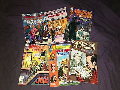 American Splendor LOT Windfall 1 2 On The Job Comic-Con Transatlantic Pekar F-VF