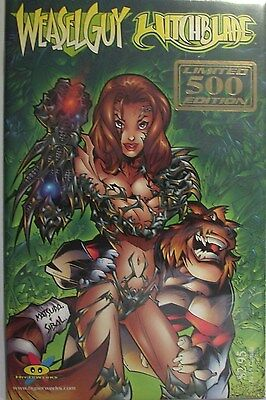Witchblade Weaselguy # 1 Gold Foil Limited to 500