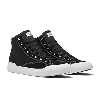 Huf Classic Hi Ess Black White Shoes Low New Free Post Australian Seller