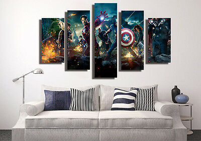 New Huge Abstract Wall Decro Art Oil Painting on Canvas NO FRAME SUPER HERO 39