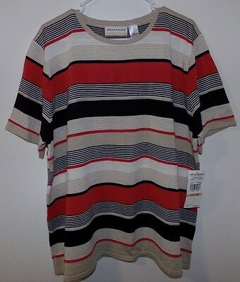 Nwt Alfred Dunner Woman's  Plus Size Top Blouse Shirt Size 2 X