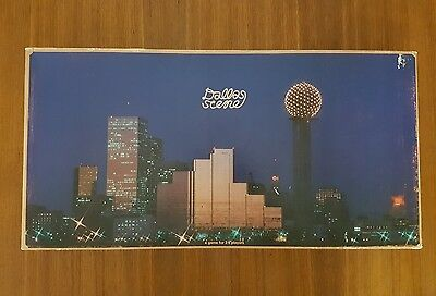 Vintage DALLAS SCENE board game by Groovy Games 1977 real estate themed