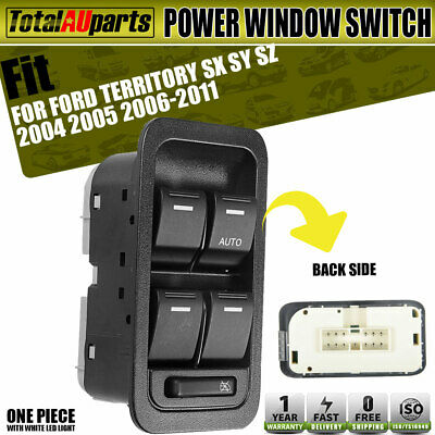 Electric Master Window Switch for Ford Territory SX SY SZ 2004-2014 Illuminated