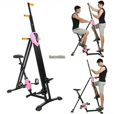 Vertical Climber Machine Stepper&Bike Cross fit Climbing Home Workout Equipment