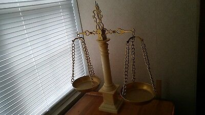 Vintage, Antique, Collectible Balance Pharmacy Scale-Very Good Condition