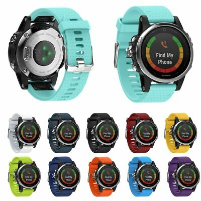 Replacement Silicagel Quick Install Band Strap Fit For Garmin Fenix 5S GPS Watch