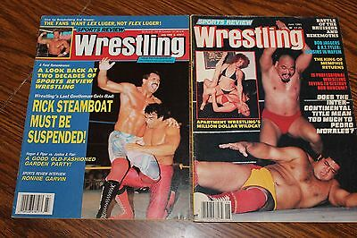 Sports Review Wrestling / June, 1992 and June, 1981 / Lot of 2