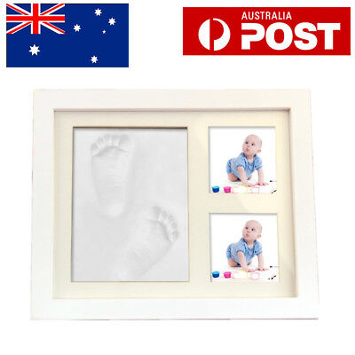 DIY Baby Casting Kit White Clay Hand Foot Print Cast Set Baby Shower Gift