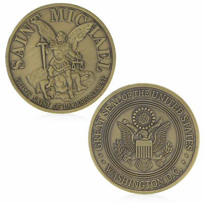 Washington Saint Michael Commemorative Challenge Coins Collection Business Gift