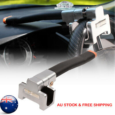 Steering Wheel Lock Anti Theft Security Car Truck SUV Auto With Keys AU STOCK