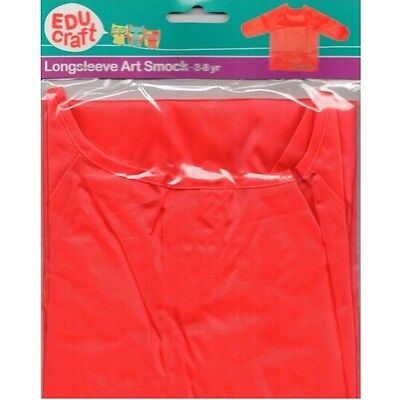 Educraft Art Smock Red 0410190