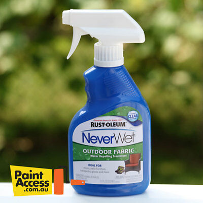 Rust-Oleum NeverWet Fabric 325ml Spray - Water Repellent Barrier
