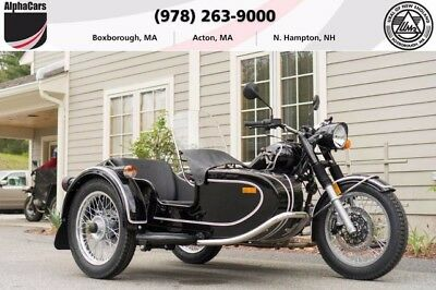 2017 Ural Retro Classic Black Gloss  Updated 2017 Model Parking Brake Brembos Financing & Trades