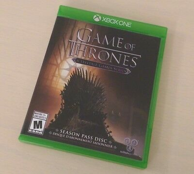 Game of Thrones (Xbox One) Complete MINT LIKE NEW