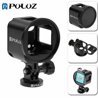 PULUZ Housing Shell Aluminum Alloy Protective Cage For GoPro HERO4 /5 Session