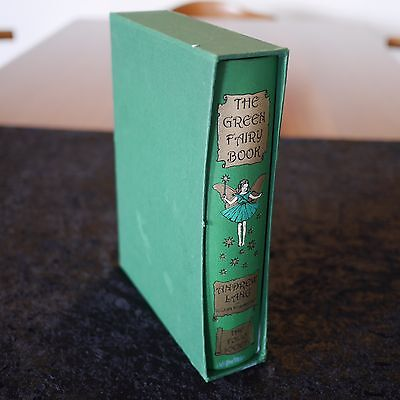 THE GREEN FAIRY BOOK by ANDREW LANG The Folio Society Hardcover with Slipcase