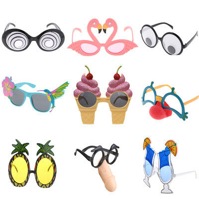 Funny Assorted Party Glasses Eyeglasses Tropical Hallowmas Costume Fancy Dress