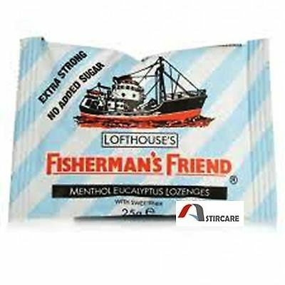 Fisherman's Friend Extra Strong Sugar Free Lozenges 25 gm Multiple Packs
