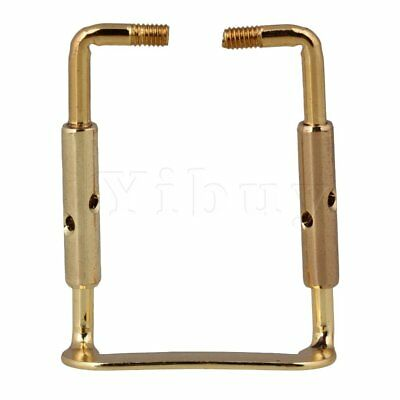 Yibuy Violin Chinrest Clamp Parts Gold